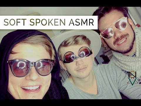 ASMR Soft Spoken Threesome Ramble   Male Voices 👬   VIZZION ASMR