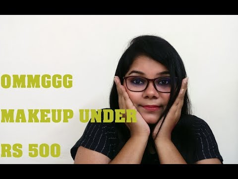 Makeup Under Rs 500 I Authentic drugstore Brand I Bronzinggeek