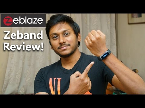 Zeblaze Zeband Review - The Best Budget Fitness Tracker?
