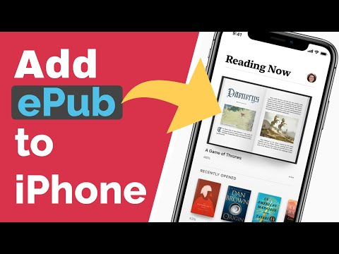 How To Add EPub To IPhone 2019