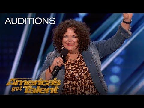 Vicki Barbolak: Comedian Finally Gets Her Joan Rivers Moment - America's Got Talent 2018