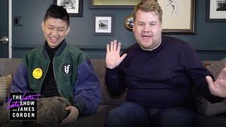 New Rapper Ad-Libs w/ Rich Brian & James Corden