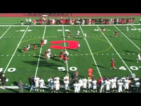 Sachem East Football at Connetquot Playoffs 11-11-12