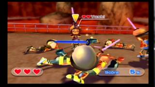 wii sports resort swordplay showdown finale stages 19 and 20 reverse stages