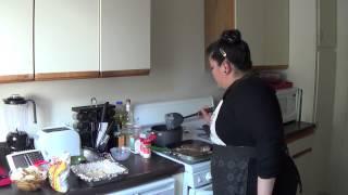 Homecookin Grilled Peppered Steak Pt.1- Blackbean Corn Relish & Scalloped Potatoes