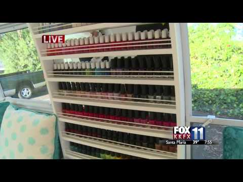 A Mobile Nail Salon Stops By Fox 11