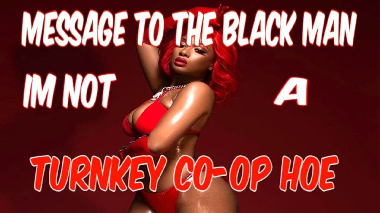 MESSAGE TO THE BLACK MAN: I'M NOT A TURNKEY CO-OP HOE