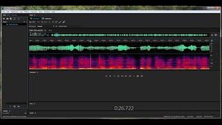 Избавляемся от паразитных призвуков в Adobe Audition