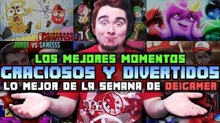 MEJORES MOMENTOS GRACIOSOS Y DIVERTIDOS XD | LO MEJOR DE LA SEMANA DE DEIGAMER #2