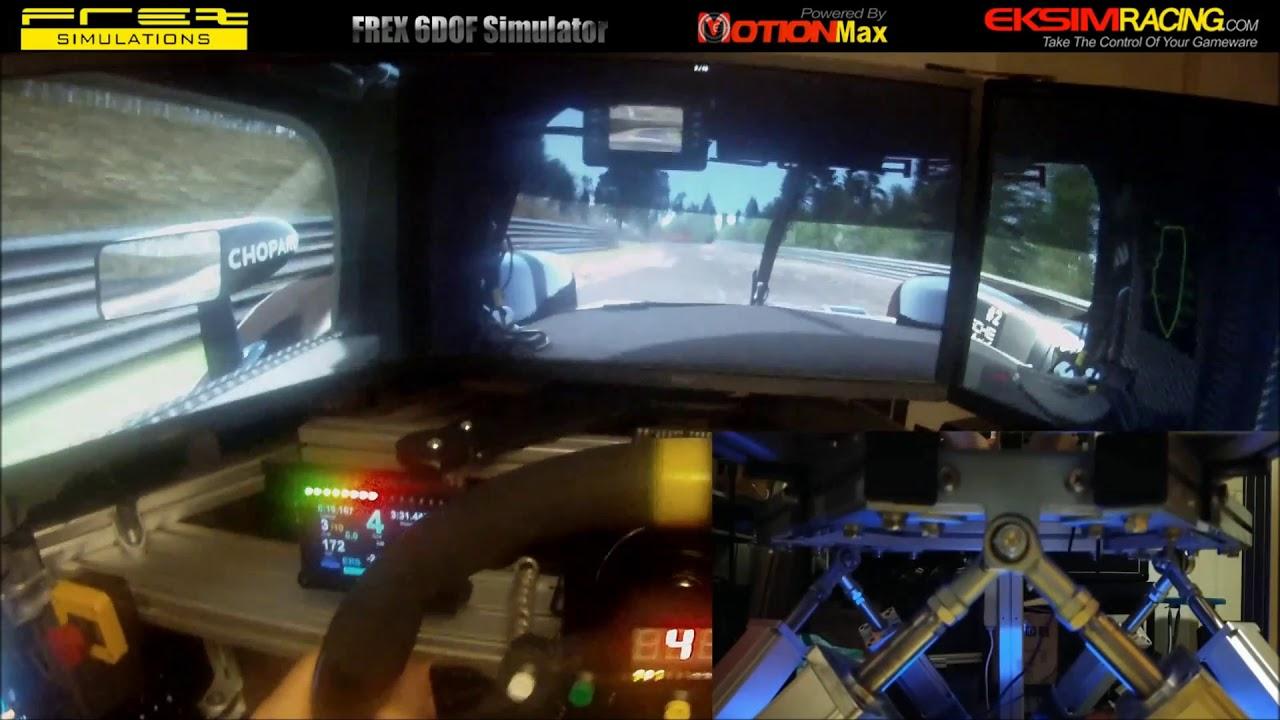 MotionMax Manager FREX Edition 2018 6DOF Simulator