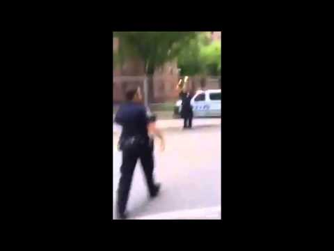 2 NYPD Cops Play Basketball With Neighborhood Kids.... & KILL IT!