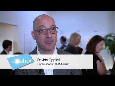 COELUX ||  Euroluce 2017 - Interview with Davide Oppizzi  (DCUBE design)