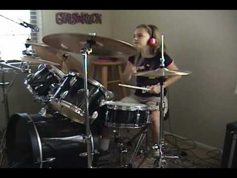 ac dc highway to hell a drum cover by emily youtube. Black Bedroom Furniture Sets. Home Design Ideas