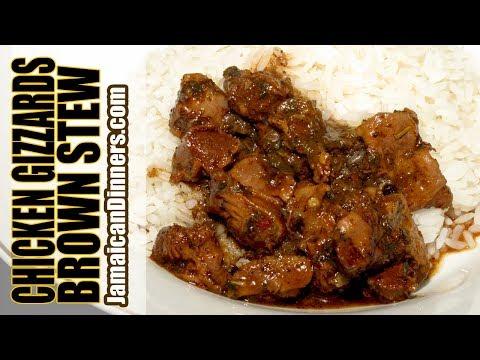 BROWN STEW CHICKEN GIZZARDS Recipe: Shorter Film