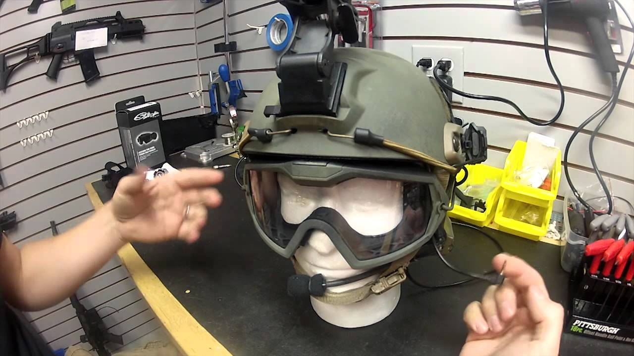 Airsoft Ops Core Fast Base Jump Helmet Youtube