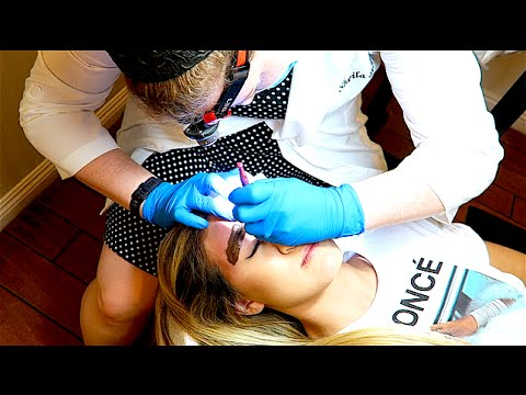 TATTOO ON HER FACE!!