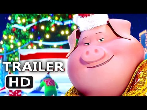 SING Official Christmas Song Trailer (2016) Animated Movie HD