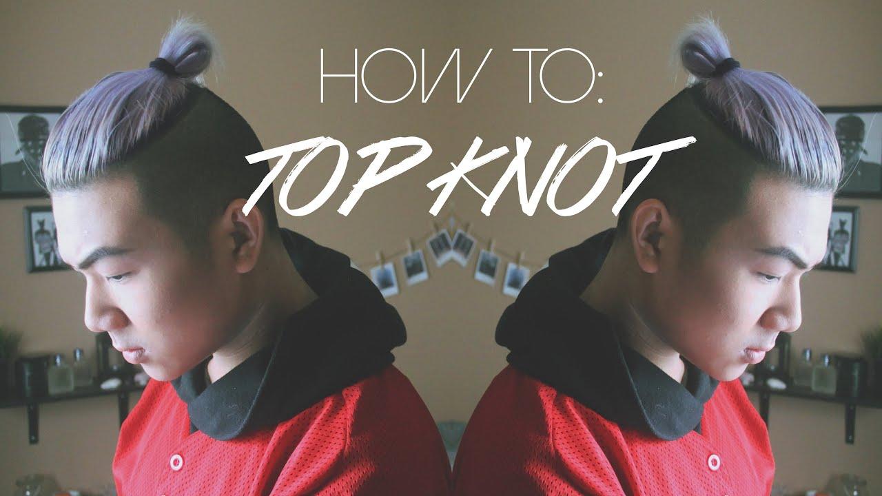 Mens Hair Tutorial TOP KNOT MAN BUN ANHOPPA YouTube