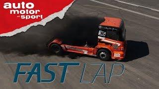 Mercedes Race-Truck: Sicher nicht Euro 6 - Fast Lap | auto motor und sport