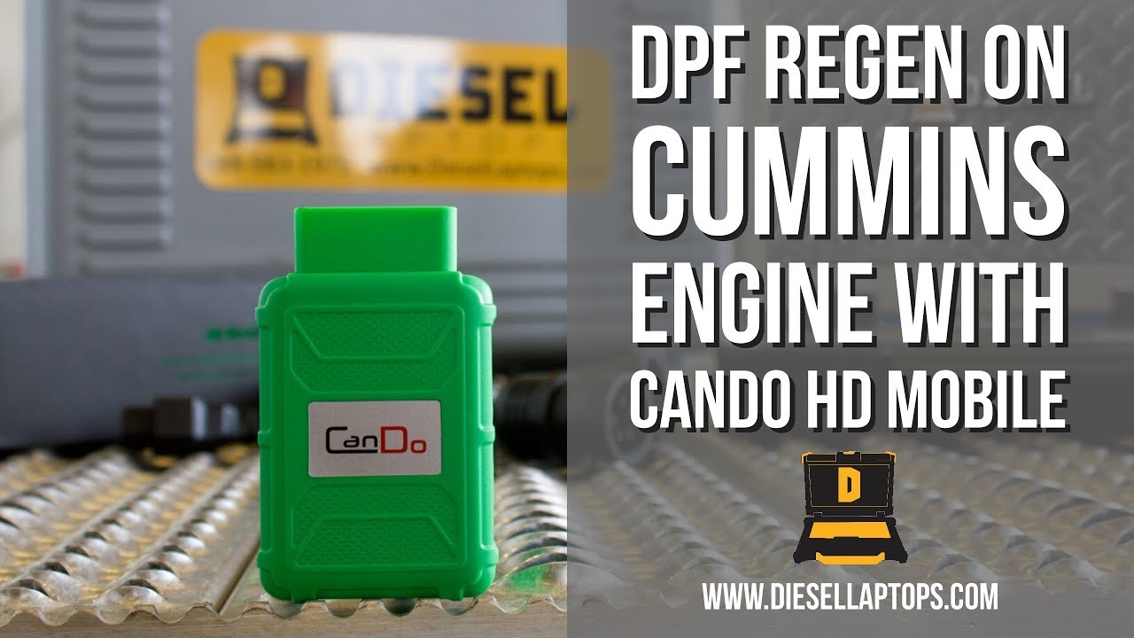 How to do a DPF Regen with the CanDO HD Mobile