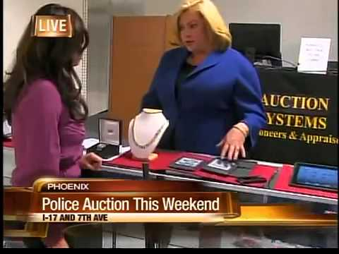 Jewelry laptops at PHX police auction