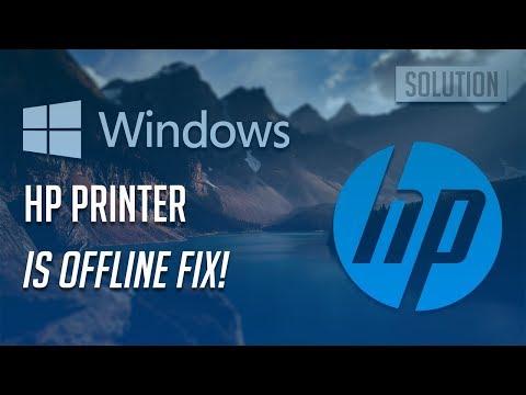 HP Printer Is Offline Fix - [5 Solutions 2019]