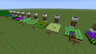 Minecraft IC2 IndustrialCraft Agriculture Crop Guide ep 3 Cropnalyzer Harvesting Seeds