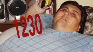 أشخاص فقدوا كمية مذهلة من الوزن