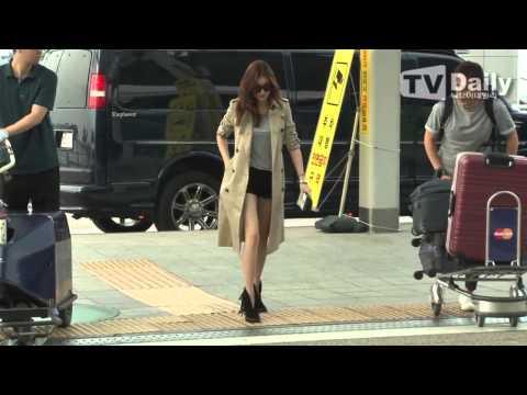 150828 Kang Sora At Incheon Airport Heading To New York