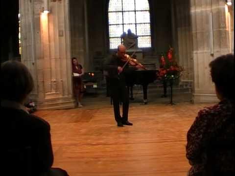 Vidéo : Matthieu Camilleri -sur violon baroque - Improvisation, variations sur une basse de Tartini