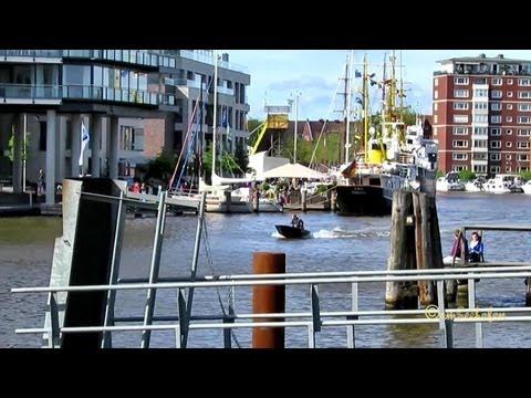 Spaziergang rund um den Emder Delft Innenstadt Walk in Emden City Matjestage 2013