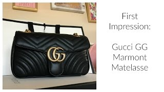First Impression:  Gucci GG Marmont