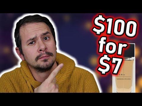I FOUND A $100 FRAGRANCE FOR $7 -  ZARA SANDALWOOD