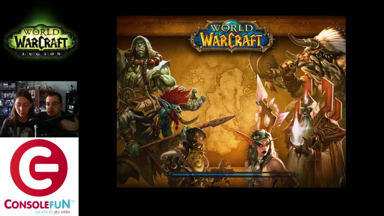 D couverte world of warcraft legion sur pc blizzard youtube - World of warcraft sur console ...