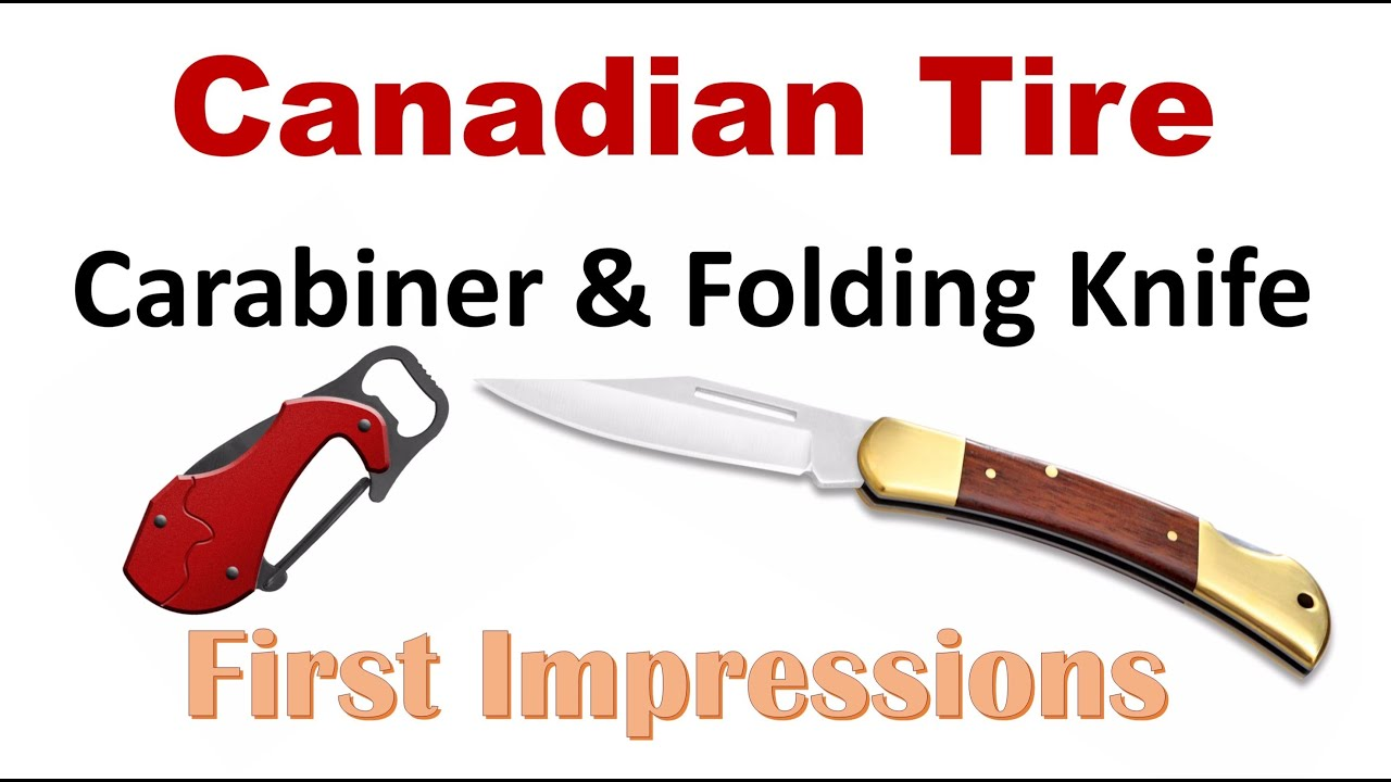 candian tire outbound branded knife review a old school back lock
