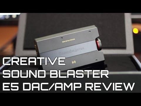 Sound Blaster E5 DAC/Amp Review | Creative
