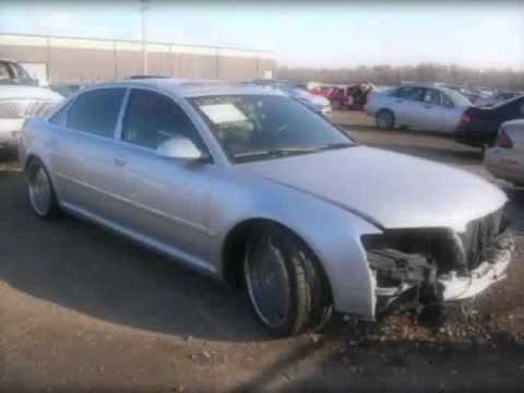 Audi Salvage For Sale At Vehbidz Auto Auction YouTube - Audi car auctions