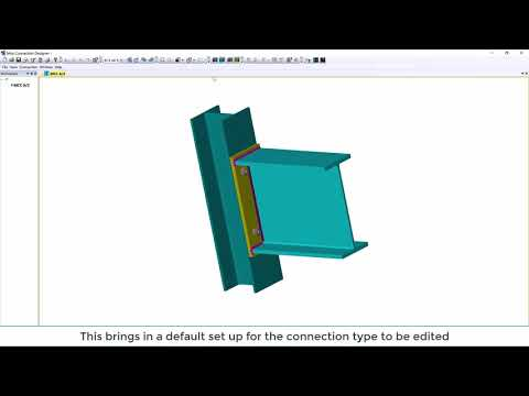 Tekla Structural Designer 2020 - TSD and Tekla Connection Designer