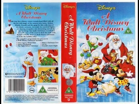 opening of a walt disney christmas uk vhs 1992 - A Walt Disney Christmas Dvd