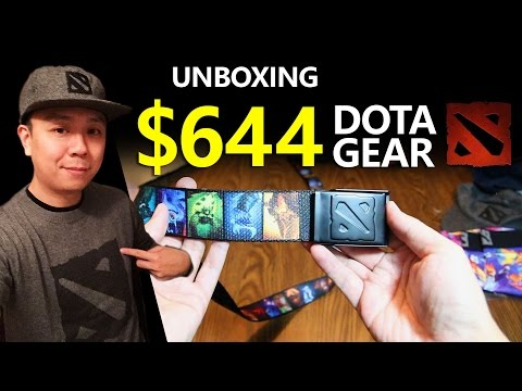 Unboxing $644 DOTA 2 Gear (Valve Store)