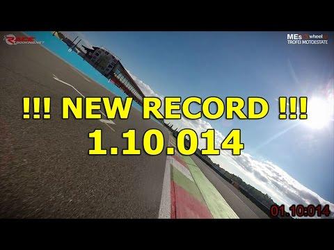 Franciacorta Onboard BMW S1000RR Record 2015 - Fabrizio Perotti 1.10.014
