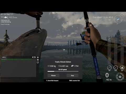 Fishing Planet CZ, ALASKA UNIQUE CHINOK SALMON 37,21 kg