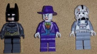 new 2014 lego batman joker and star wars v wing pilot minifigures leaked
