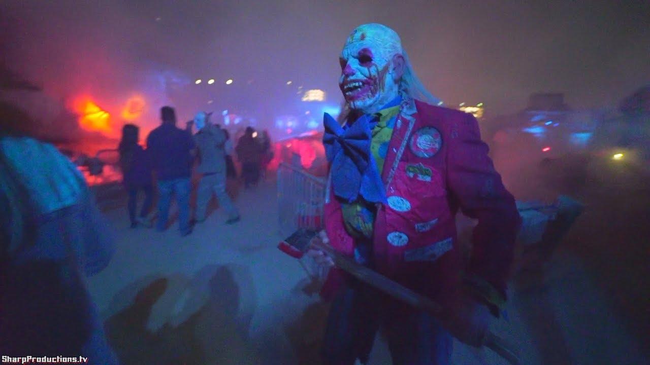 Terror Tram (Full Walkthrough) at Halloween Horror Nights at Universal  Studios Hollywood