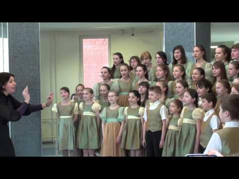 """Я. Дубравин """"Муха-чистюха"""", исполняет Концертный хор """"Перезвоны"""""""