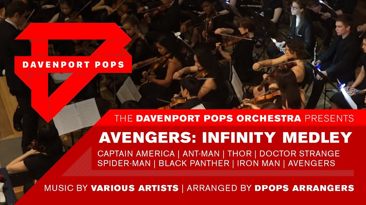 Avengers: Infinity War Orchestral Medley - DPops
