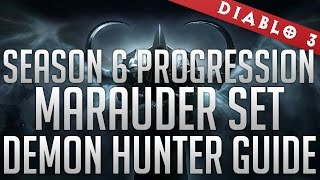 season 6 marauder demon hunter guide t10 progression gr85 solo runs