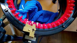 Вязальная машина - вязание детских штанов (штанишек) на Addi Express Kingsize baby pants(Рукоделие для начинающих. Детское вязание - как связать штанишки для мальчика. Описание вязания штанишек..., 2015-10-06T13:27:14.000Z)
