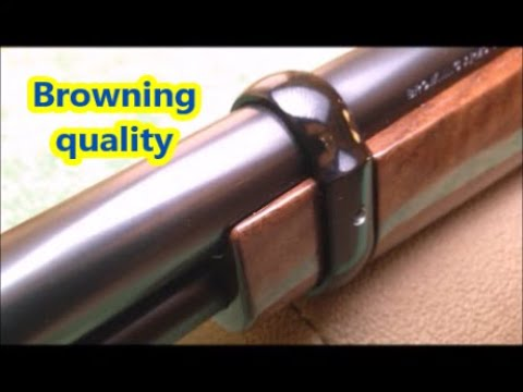 Browning BL-22 lever action rifle (Miroku, Japan) quality