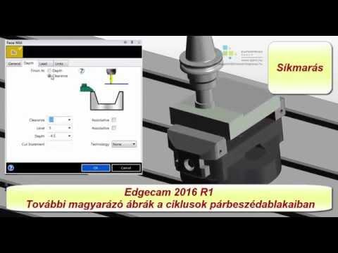 Edgecam 2016R1 | További ábrák a ciklusok párbeszédablakaiban